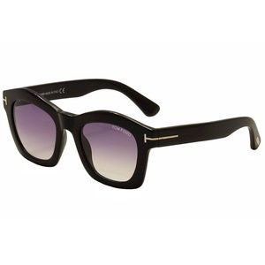 Tom Ford Sunglasses Black w/Purple Lens